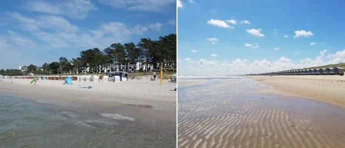 Nordsee und Ostsee