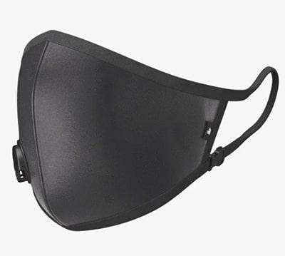 antivirale schwarze schutzmaske