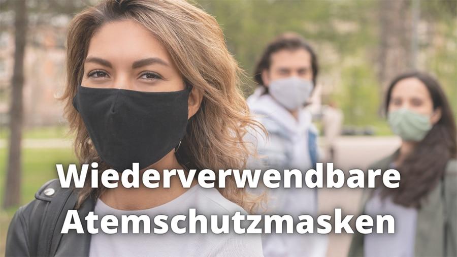 wiederverwendbare atemschutzmaske